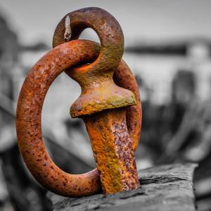 Rusted metal
